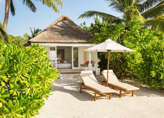 LUX South Ari Atoll beach villa
