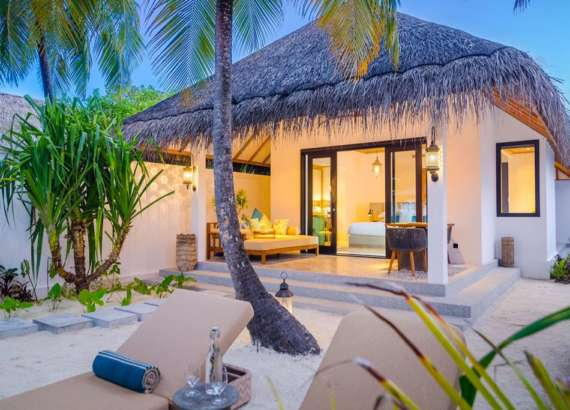 luxury resort finolhu maldives rooms beach villa