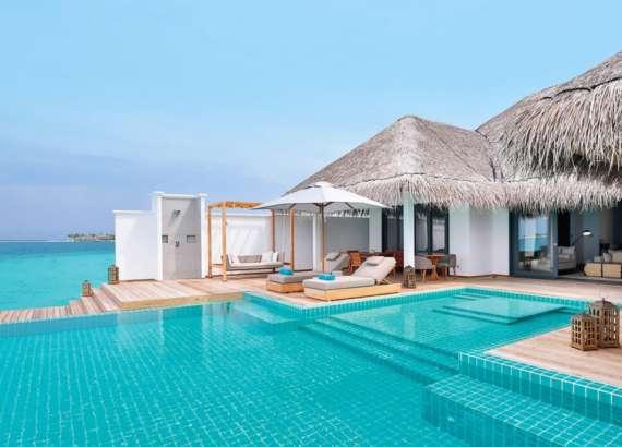 luxury resort finolhu maldives rooms two bedroom villa
