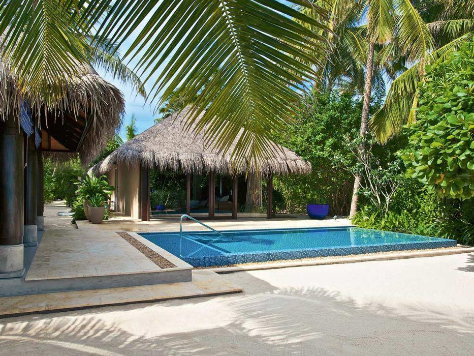 Beach Pool Villa Velaa Privat Island