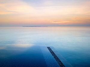 SUNSET DELUXE WATER POOL VILLA VELAA PRIVAT ISLAND