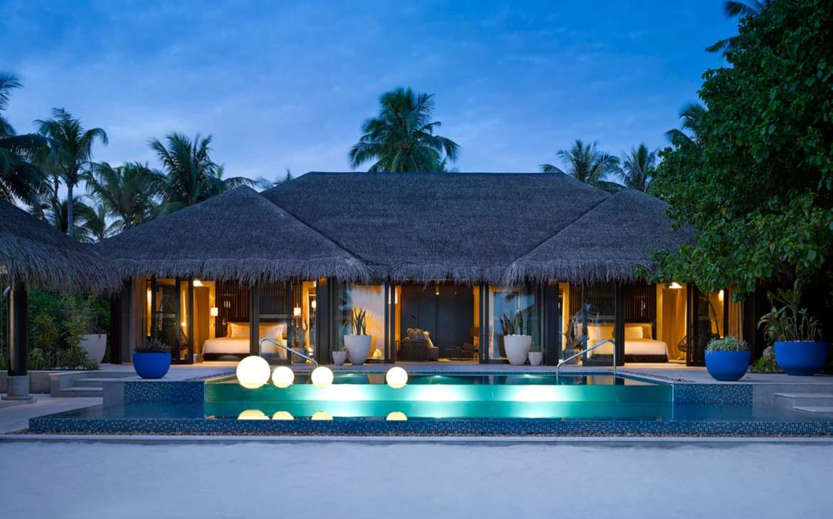 Beach Pool House Two Bedroom Velaa Private Island Maldives