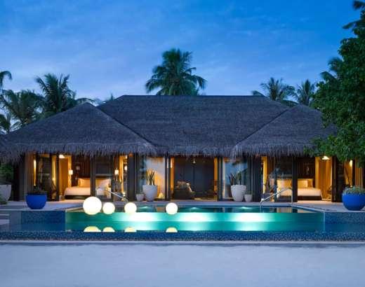 Beach Pool House Two Bedroom Velaa Private Island Maldives