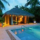 Beach Pool Villa Velaa Private Island Maldives