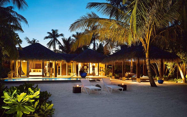 Deluxe Beach Pool Villa Velaa Private Island Maldives