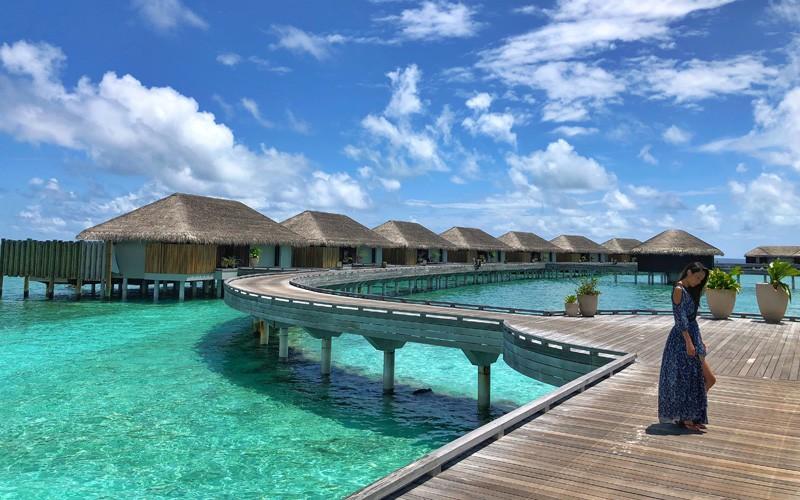 Sunrise Water Pool Villa Velaa Private Island Maldives