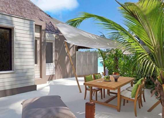 GARDEN WATER VILLA 2 BEDROOMS CHEVAL BLANC RANDHELI MALDIVES