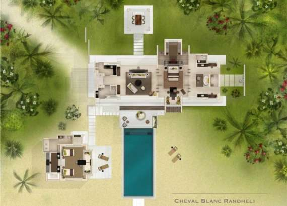 Island Villa Two Bedrooms Cheval Blanc Randheli Maldives