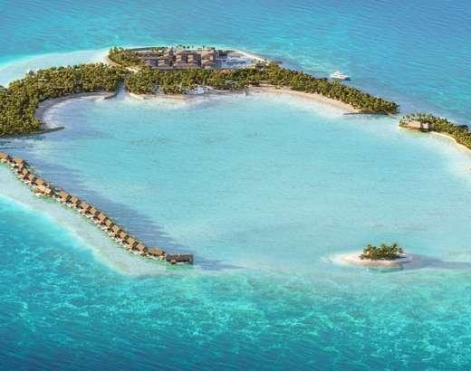 Over Water Villa Waldorf Astoria Maldives