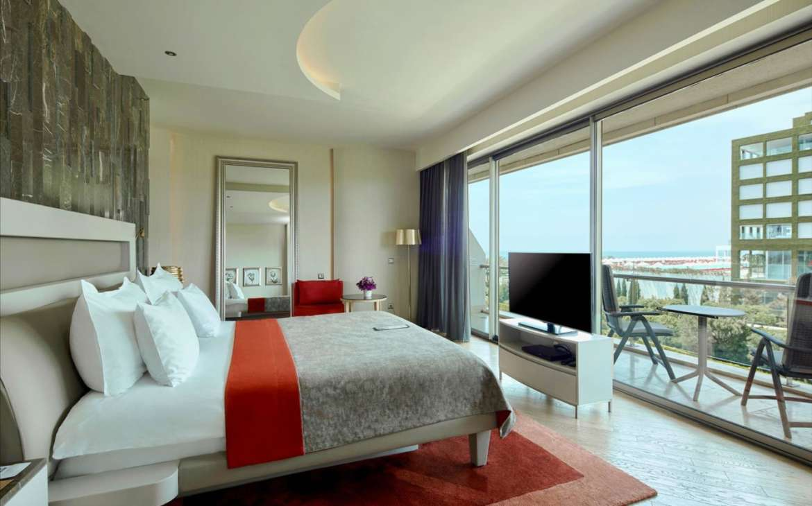 maxx royal belek family suite sea view