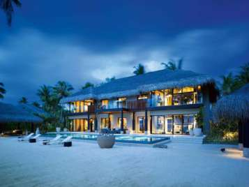 VELAA PRIVATE RESIDENCE FOUR BEDROOM VELAA PRIVAT ISLAND