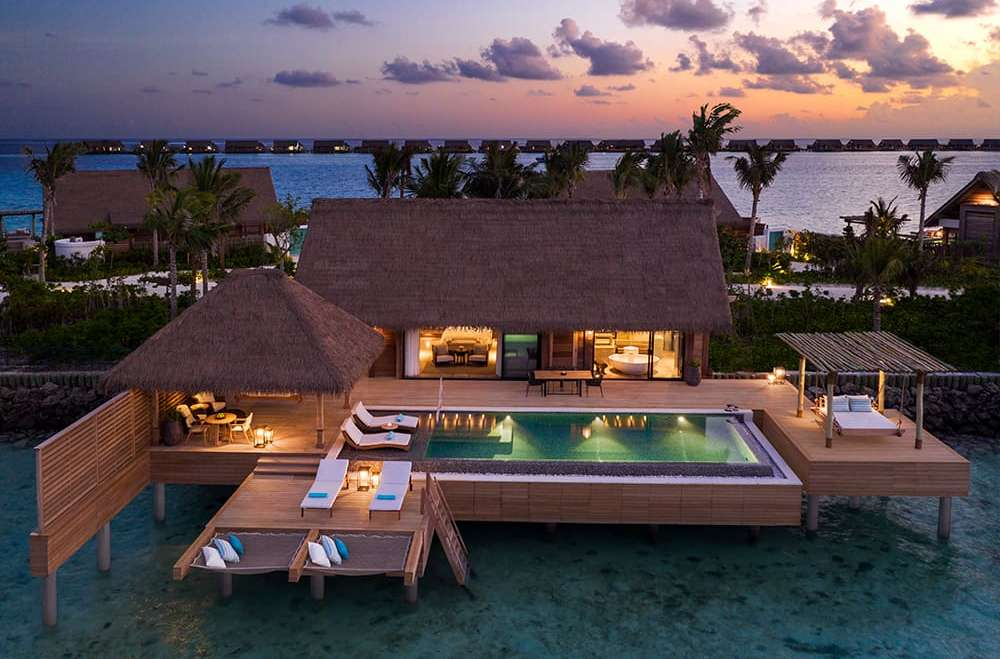 Two Bedroom Reef Villa with Pool Waldorf Astoria Maldives Ithaafushi