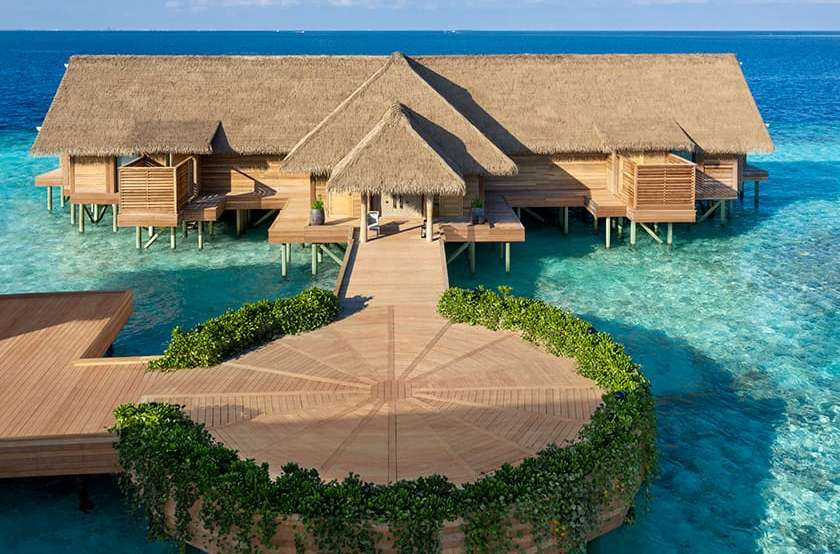 Two Bedroom Over Water Villa with Pool Waldorf Astoria Maldives Ithaafushi 2